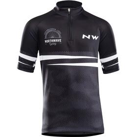 Northwave Origin Koszulka rowerowa z krótkim rękawem Dzieci, czarny